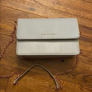 Light grey Ted Baker purse!